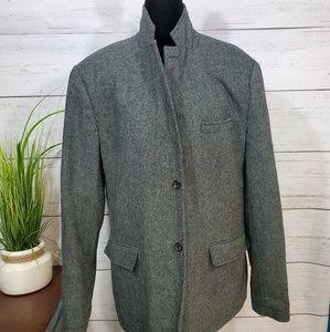 Tommy Hilfiger wool blend coat